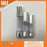 Bottiglia senz'aria crema cosmetica del fornitore della Cina con l'azionatore bianco