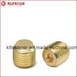 Parafusos de fixação DIN913 de cobre com ponto liso