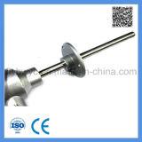 Industrieller Typ Montage-Thermoelement des Verbrauch-K mit beweglichem Flansch 0-1000c