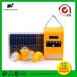 ライトが付いている携帯用PVの太陽電池パネル力エネルギーホームシステム