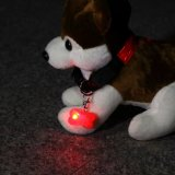 Indicatore luminoso di Keychain dell'animale domestico di figura dell'osso di alta qualità