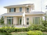 가벼운 차고 조립식 가옥 거주를 가진 개인화된 단순한 설계