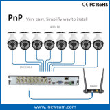 16CH 720p CCTV H. 264のハイブリッドビデオレコーダー