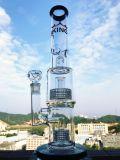 Tubulação de fumo de vidro de Enjoylife com espessura da alta qualidade 9mm