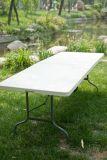 Tabela do restaurante do HDPE quente da venda e jogo de dobramento da cadeira