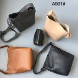 Sac à main réglé simple de sac en cuir de sac de type de sac à main de dames Crossbody de mode