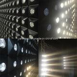 Luz morna do feixe dos antolhos da matriz do diodo emissor de luz do branco