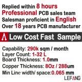 1.0mm 전자 경비 안전 회로판 PCB 4개의 층 Enig