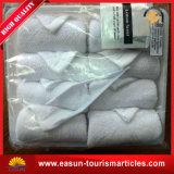 100%年の綿使い捨て可能な航空会社の表面熱いタオル