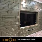 既製の食器棚の全家の木のキャビネットの中国の製造業者Tivo-035VW