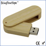 vara de bambu da movimentação do flash do USB de Eco do giro 8GB (XH-USB-001B)