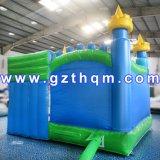 Kleiner Fallhammer-aufblasbares Schloss für Kinder mit Sprung-Schlag