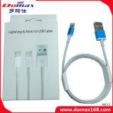 Сотовый телефон Adatper Lightning&Micro к кабелю USB