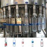 무기물에 의하여 병에 넣어지는 물 충전물 기계
