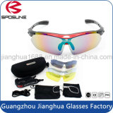 Gafas de sol Biking polarizadas compra en línea al por mayor de la montaña de los vidrios de la bici de la corrida de Sun del diseñador