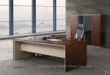 L形の現代木の家具の執行部表(HF-SI003)
