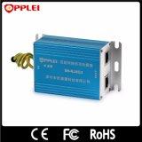Único protetor de impulso interno do Ethernet RJ45 das canaletas