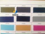 Mercancías pronto de la tela de estiramiento de las maneras del poliester 4, tela de materia textil tejida elástico del poliester