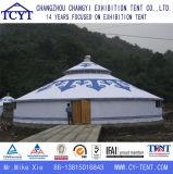 Tienda mongol al aire libre de bambú de lujo de Yurt del acontecimiento que acampa