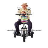 """Três """"trotinette"""" do """"trotinette"""" 350W da mobilidade da roda para o sénior"""