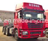 使用されたshacmanトラクターはf2000の重いトラクターのトラック6X4をトラックで運ぶ