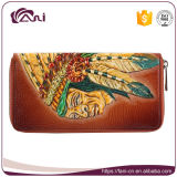 Faniのカスタムアートワークの硬貨の財布、女性豪華な手の財布の卸売