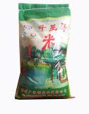 10kg cortou o saco do arroz dos PP do composto da laminação do punho BOPP