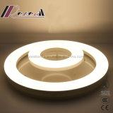 Moderne einfache LED-runde warme Decken-Lampe für Wohnzimmer
