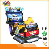 Máquina de juego electrónica el competir con de coche de la arcada del simulador