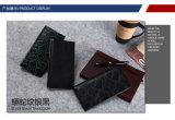 Heißer Verkauf fertigen Mann-Mappen-echtes Leder-Karten-Mappe kundenspezifisch an
