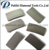 A soldadura da laje do granito da estaca do segmento do diamante em de pedra considerou