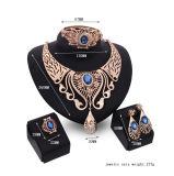 De Armbanden van de Oorringen van de Halsbanden van de manier belt de Gouden 4 PCs Geplaatste Juwelen van Reeksen