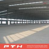 Estructura de acero del diseño de la construcción para el almacén