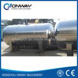 El tanque de agua del almacenaje del acero inoxidable del vino del tanque de almacenaje del hidrógeno del agua del aceite del precio de fábrica