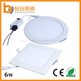 또는 Pure/Cool White Ceiling Lighting 2700-6500k LED Ultra-Thin LED Downlight 85-265VAC LED Panel 데우십시오