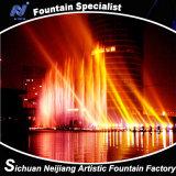 Illuminazione variopinta della fontana 3D di musica di oscillazione di comando digitale Nel lago
