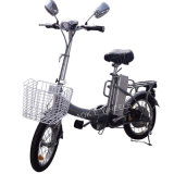 Helles Folding Electric Bike mit Basket und LED Headlight (FB-006)
