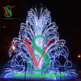 3D Grote OpenluchtLicht van de Decoratie van Kerstmis Fourtain