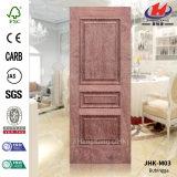 HDF/MDF natürliches Aschen-Furnier-Blatthölzerne Tür-Haut