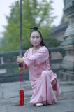 Uniforme de bambú del cáñamo de la cola de pato de alto grado de las mujeres de la ji de Wudang Tai