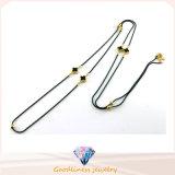 女性のネックレス925の銀製の方法宝石類N6807のための新しいデザイン