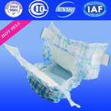 Couche-culotte remplaçable de bébé pour des produits de bébé avec la couche de couches-culottes de coton (H421)
