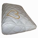 Выстеганный способом мешок PVC PU кожаный косметический