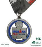 各国用のマップによってスロバキア形づけられる連続したメダル(w-352)
