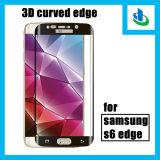 ¡Factor de potencia! 3D 9h curvó el protector de la pantalla del vidrio Tempered del borde para el borde de Samsung S6 (SSP)