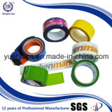 Revestimento com a fita adesiva acrílica do logotipo da embalagem