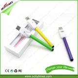 Batería recargable del tacto de 510 brotes del E-Cigarrillo de Ocitytimes 280mAh con el conjunto de OEM/ODM