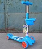 Form Kinder, die Roller surfen