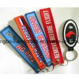 Benutzerdefinierte Souvenir Rubberpvcevapuembroiderycork Schlüsselanhänger Schlüsselanhänger (GBBP48)