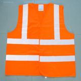 Waistcoat reflexivo da segurança da visibilidade elevada com o certificado En471